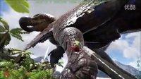 【峻晨解说】独狼生存起源5-恶魔岛驯服渡渡霸王龙!眩晕秒减、只要拿起毒矛不停捅捅捅-方舟生存进化