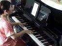 超劲爆火影忍者主题曲《青鸟》钢琴视奏加伴奏