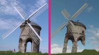 《极限竞速:地平线4》游戏场景与现实场景对比