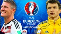 欧洲杯激情解说!实况足球2016德国vs乌克兰pes2016
