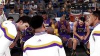 布鲁【NBA2K16】MC生涯模式 状元VS榜眼 继续三双难度提升无碍(十五)