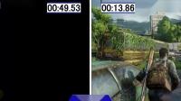 【游侠网】《美国末日》PS5和PS4加载时间对比