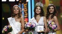 俄罗斯小姐18岁大学生夺冠 佳丽穿比基尼秀身材 160418