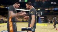 【NBA2K15】库里总决赛加时绝杀!勇士队夺冠!