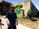 GTA5侠盗飞车5横行霸道5实机画面演示(PS3XBOX360无PC)