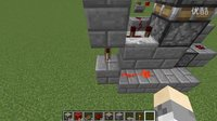 [Minecraft红石小教室]用活塞组成的门?