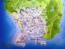 【GTA5 侠盗猎车5】系列游戏地图对比