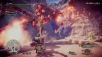 《怪物猎人世界》历战爆鳞龙与雌火龙闪光速杀