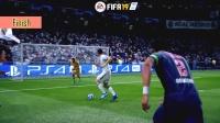FIFA19 vs PES2019 各类动作姿势对比视频 1080P 60帧