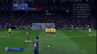 《FIFA20》卡洛斯式弧线任意球教程