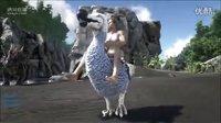 【峻晨解说】可骑乘渡渡鸟MOD,驯服渡渡鸟后做鞍子,骑上去奔跑吧!-方舟生存进化