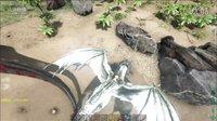 【峻晨解说】野人MOD22-骑火龙捕获风神翼龙!葫芦这个焚蛋竟然把我射晕了、-方舟生存进化