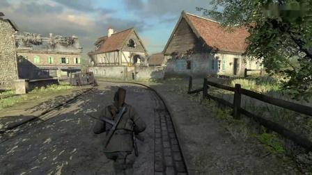 《狙击精英V2重制版》实况流程视频15.dlc:圣皮埃尔