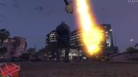 【游侠网】《GTA5》灭霸MOD:飞火流星