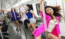 地铁车厢中藏着一群奇葩妖精们