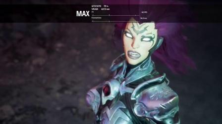 【游侠网】《暗黑血统3》最高最低画质对比