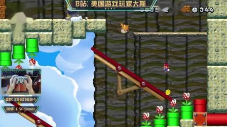 《新超级马里奥U:豪华版》岩石山脉全收集攻略3