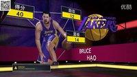 布鲁【NBA2K16】MC生涯模式 40+13+12湖人队VS尼克斯 科比安东尼 (三十一)