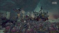 战锤全面战争最高画质史诗大战:当混沌兽人遇到绿皮大蜘蛛