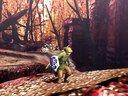 《怪物猎人4:终极版》林克乱入