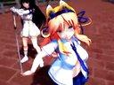 【MMD】桜花乱舞な閃乱カグラ(葛城&斑鳩で千本桜