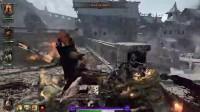 《战锤:末世鼠疫2》部分武器用法技巧合集3.巫獵 連枷 橫掃連攻測試