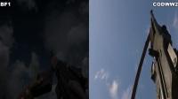《使命召唤14:二战》vs《战地1》枪声&装填&慢动作对比