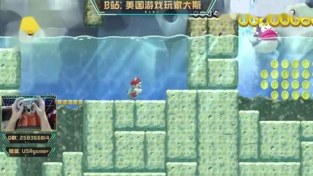 《新超级马里奥U:豪华版》岩石山脉全收集攻略2