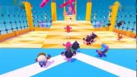 《糖豆人终极淘汰赛》全关卡流程视频5.旋转木马