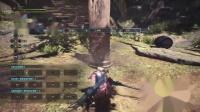 《怪物猎人世界》全太刀外观视频演示07.飞龙刀【蓝染】
