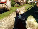 《巫师3》炫酷bug 身体飞天如在月球(1)