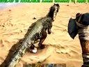 【电玩堂】《方舟·生存进化》在海边遛弯被双脊龙分食-2
