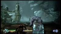 《战神4》无伤击杀流程第5boss紫皮巨人