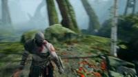 《战神4》奎爷教儿子狩猎剧情试玩视频