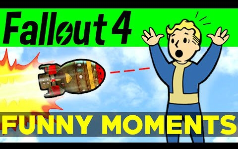 Fallout 4 Funny Moments - EP.2  辐射4-有趣时刻#2