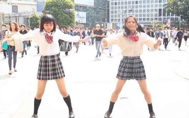 日本广播体操少女 一只pocky舞
