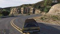 GTA5里一段有趣的山路(灵车漂移版)