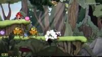 《茶杯头》黑白模式全六关P无射击玩法视频攻略1森林恶棍