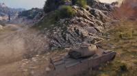 I系神坦火力爆发《坦克世界》金币中坦PM35/46出击