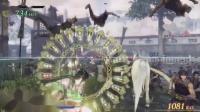 《无双大蛇3》全角色人物神技与无双极意9.关银屏 蓄力神技