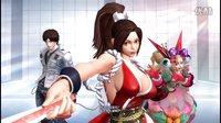 不二《拳皇14》PS4中文版试玩 不知火舞大妈脸