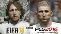 【游侠网】《FIFA 16》VS《实况足球2016》对比视频