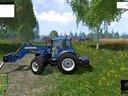 模拟农场15官方游戏视频4:BALE HANDLING