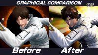 【游侠网】《拳皇14》新旧版本画质对比