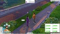 阿津实况【模拟人生4 The Sims 4 软饭情】(1) 花言巧语泡妞
