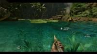 《丛林地狱》荷花池塘瀑布视频走法