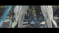 【游侠网】日本台场 1:1独角兽高达 建造过程