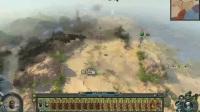 《战锤2全面战争》古墓王至高女王卡莉达视频攻略1.以退为进