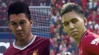 《FIFA19》vs《PES2019 》球员脸型对比视频