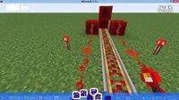 【龙魄原创】mc我的世界:红石火车-高铁制作